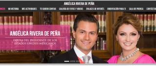 Angélica Rivera abre sitio web