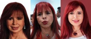 Así ha cambiado la cara de Layda Sansores
