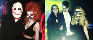 Así festejaron Hallowen Sofía y Fernanda Castro