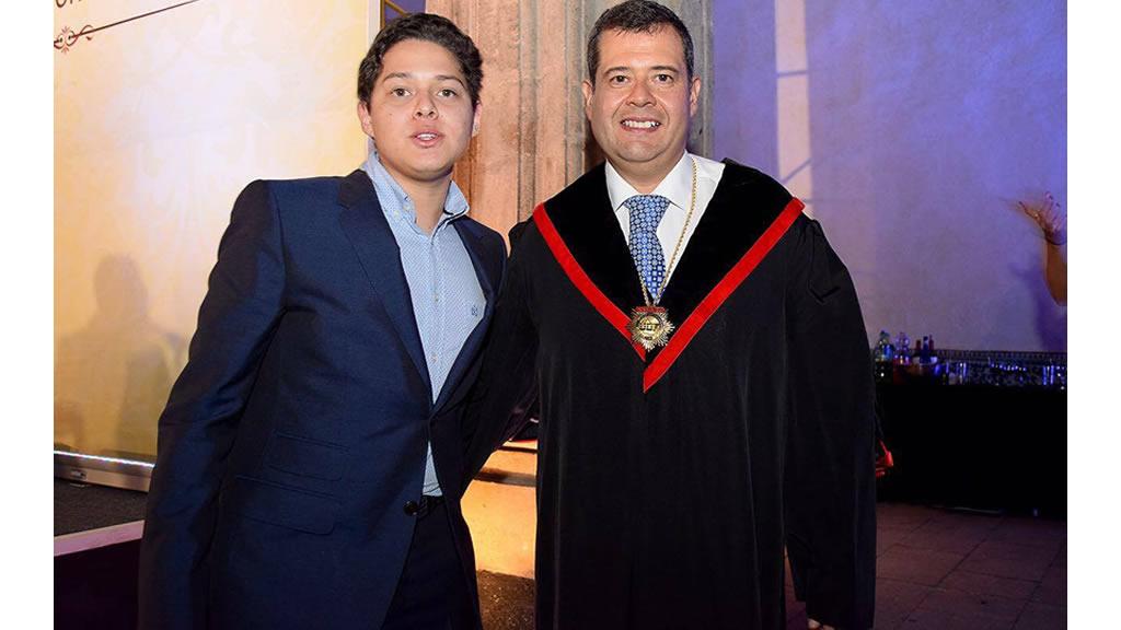 El hijo de José Ramón Amieva ya tiene la mayoría de edad